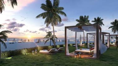 morros eos cuenta con el privilegio de tener acceso directo a las playas de Serena del Mar en Cartagena.