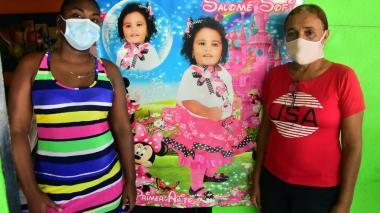 """""""Casi dos años y no hay condena por Salomé"""": mamá de niña asesinada en atraco"""