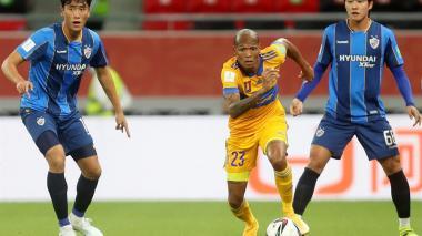 Tigres, con Luis Quiñones y Meza, vence al Ulsan Hyundai en Mundial de Clubes
