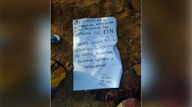Masacre en cauca: tres cuerpos hallados