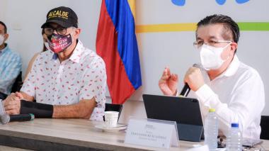 Minsalud destaca manejo que Cartagena le ha dado a la pandemia