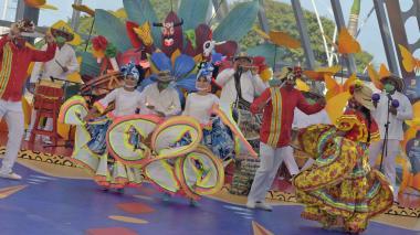 En video   Baranoa cantó y bailó su Carnaval del Recuerdo