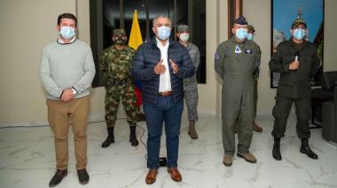 """""""Hemos dado el golpe más duro al Clan del Golfo"""": Duque"""