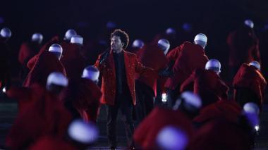 En video   The Weeknd apostó por un espectáculo sobrio en el Super Bowl