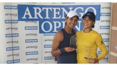 Mafe Herazo y Lizarazo le dan el primer título a Colombia en tenis en el 2021