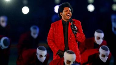 Lluvia de críticas por el show de The Weeknd en el Super Bowl