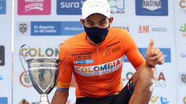 El colombiano Diego Camargo se plantea ganar el Tour de Francia en dos años