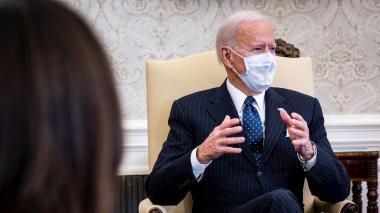Biden asegura que no verá el juicio político a Trump