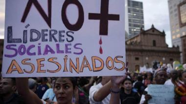 HRW denuncia lenta reacción del Gobierno colombiano al asesinato de líderes