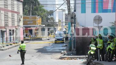 Pánico por otra granada en el Centro de Barranquilla