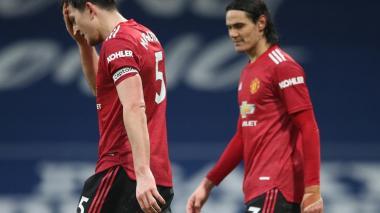 El Manchester United se enreda ante el West Bromwich y se aleja del City
