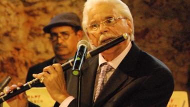 Johnny Pacheco, músico dominicano de 85 años, creador del concepto salsa.