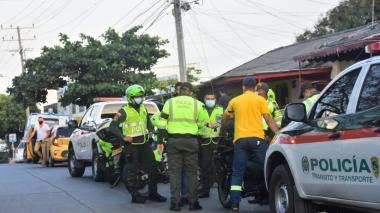 En Barranquilla apagaron 132 fiestas durante el toque de queda