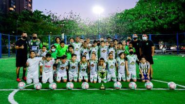 Caimanes FC comienza a dejar huella en la Liga del Atlántico
