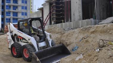 La construcción fue la actividad con mayor caída.