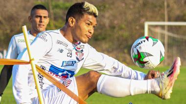 Teófilo Gutiérrez dirigirá la creación de Junior ante Deportivo Cali.