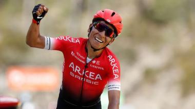 """Nairo Quintana """"muy motivado"""" ante su regreso en el Tour de los Alpes"""