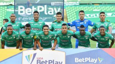 Onceno titular del Deportivo Cali que derrotó a Águilas Doradas en la jornada anterior.