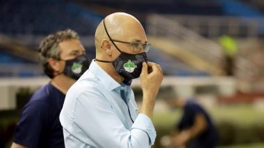 Alfredo Arias, entrenador del Deportivo Cali.