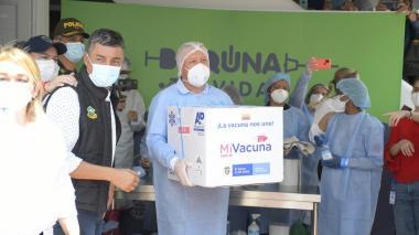 Barranquilla recibe las primeras 2.556 dosis de la vacuna de Pfizer