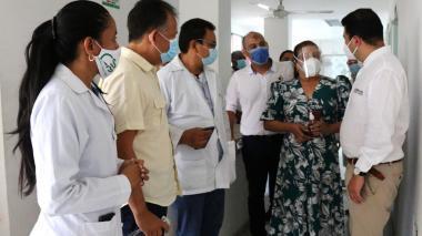 Contraloría visita IPS dispuestas para vacunación en Sincelejo y Montería