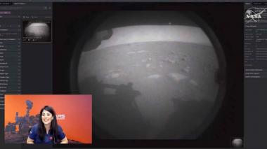Perseverance aterriza con éxito en Marte