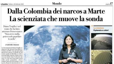 De la Colombia de los narcos a la Nasa: titular de medio italiano que indigna