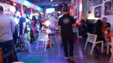 Uno de los establecimientos nocturnos de Cartagena visitados en fin de semana.
