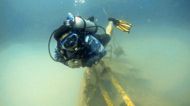 El barco hundido que crea vida e impulsa el buceo en Coveñas