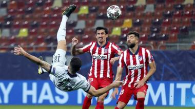 Atlético de Madrid 0, Chelsea 1: una chilena de Giroud marcó la diferencia