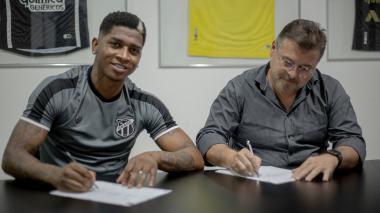 Yony González llega al Ceará, su tercer club en Brasil