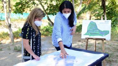 Obras de infraestructura en Usiacurí avanzan en un 90%: gobernadora Noguera