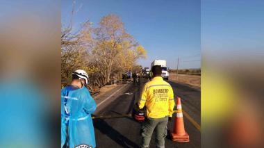 Trágico accidente en El Copey: cuatro muertos y un herido