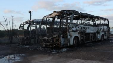 Extrabajador de Cerrejón sería responsable del incendio de los buses