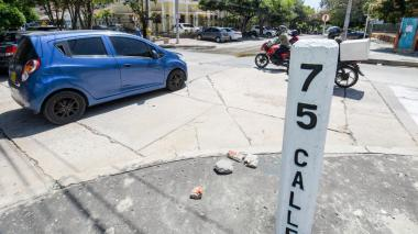 Conductores alertan por intersección peligrosa en Barranquilla