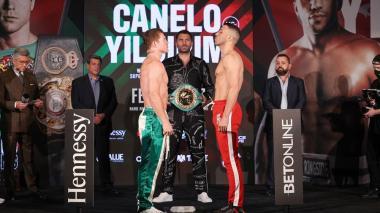 'Canelo' Álvarez y Yildirim dan el peso y se declaran listos para pelear