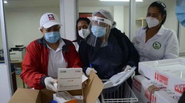 Llegaron a La Guajira 3.393 vacunas contra covid-19