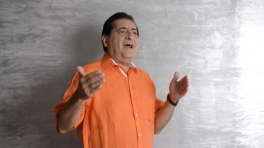 Jorge Oñate, cantante.