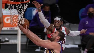 Lucha de Clippers, Lakers y Suns por liderato; pierden Jazz ante Heat