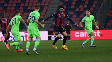 El Bolonia frustra a la Lazio