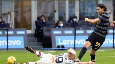 El Inter se escapa en solitario por el título de la Serie A
