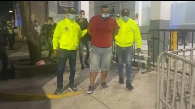 Cayó 'Fen', presunto cabecilla de 'Los Papalópez' en Soledad