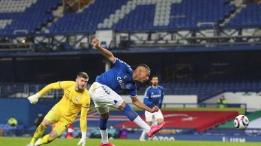 Sin James ni Mina, el Everton rompe su mala racha en casa