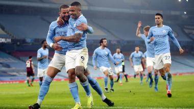 El City se deja la goleada para el final