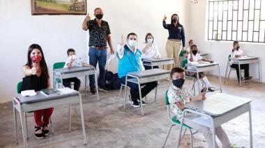 Garantizan implementación del modelo de  alternancia  educativa en Bolívar