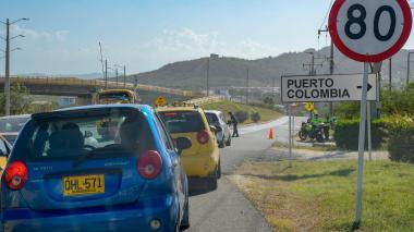 Apagones en Puerto Colombia, provocados por fuertes vientos