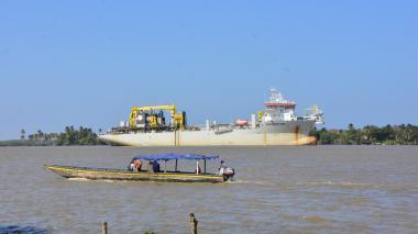 Calado autorizado para el Puerto sube a 9,6 m