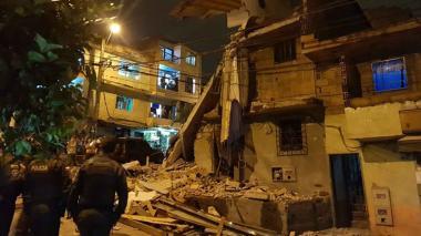 Nueve heridos y 40 casas afectadas por explosión en Medellín