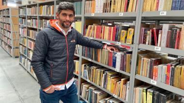 El 'paraíso' de los libros de un valduparense
