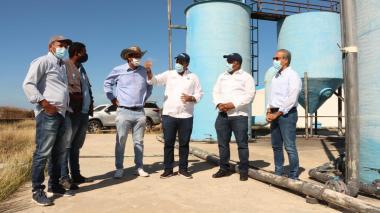 Comenzaron las obras para operar el acueducto de Camarones